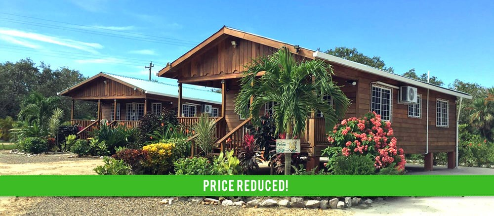 RE/MAX real estate, Belize, Placencia, Furnished Two Bedroom Rentals on 1.3 Acres in Surfside, Placencia