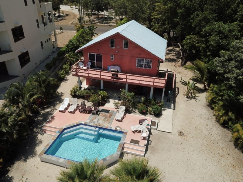 RE/MAX real estate, Belize, Placencia, Affordable Beachfront Home with Pool