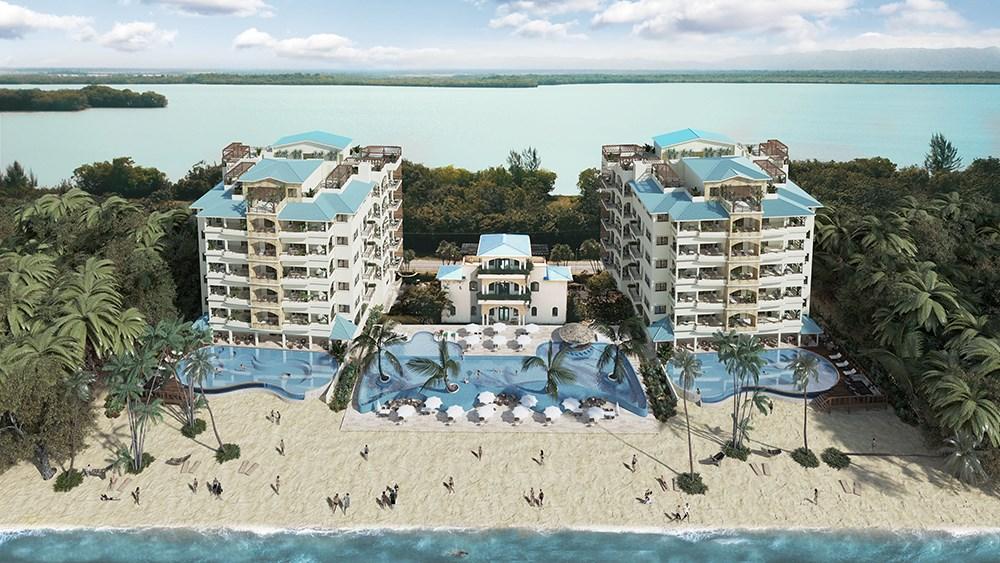 RE/MAX real estate, Belize, Maya Beach, Palm Reef Resort Luxury Condos