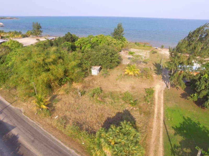 RE/MAX real estate, Belize, Placencia, Price Reduced Oceanview Lot next to Surfside