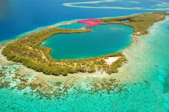RE/MAX real estate, Belize, Riversdale, 2.2 acre peninsula on Saddle Caye