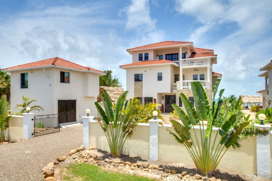 Remax real estate, Belize, Placencia, Five Bedroom Luxury Beachfront Villa — Fractional Ownership