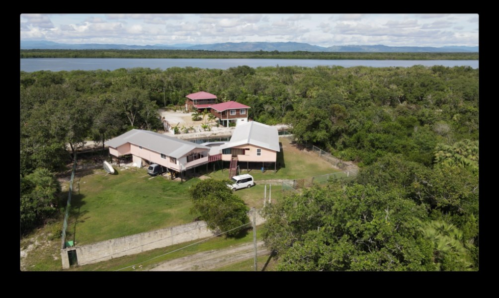 RE/MAX real estate, Belize, Maya Beach, 2 Bedroom Canal Front Home in Maya Beach