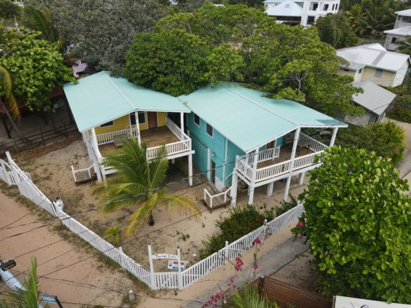RE/MAX real estate, Belize, Placencia, Income Property on the side walk in Placencia Village
