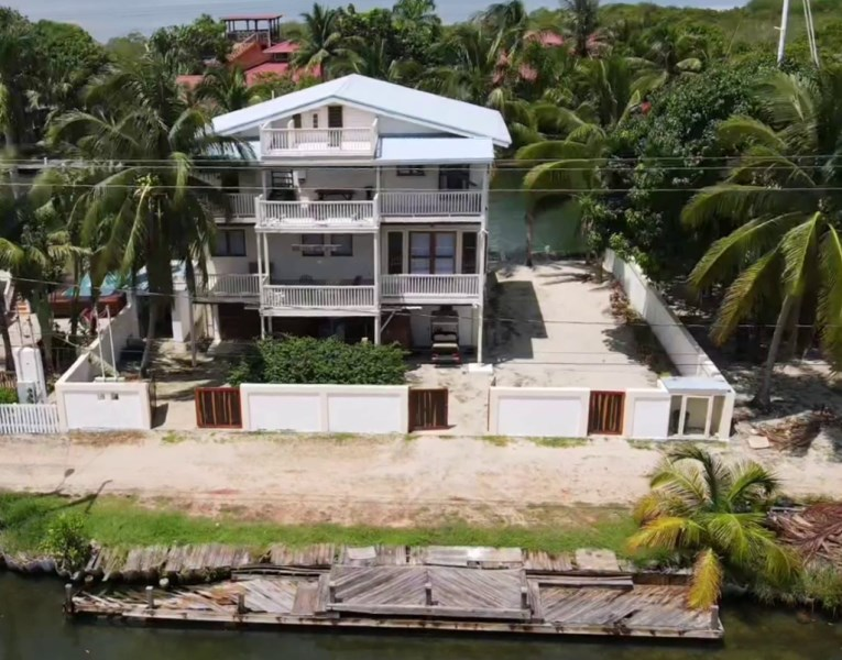RE/MAX real estate, Belize, Placencia, Water Front House in the Heart of Placencia Village