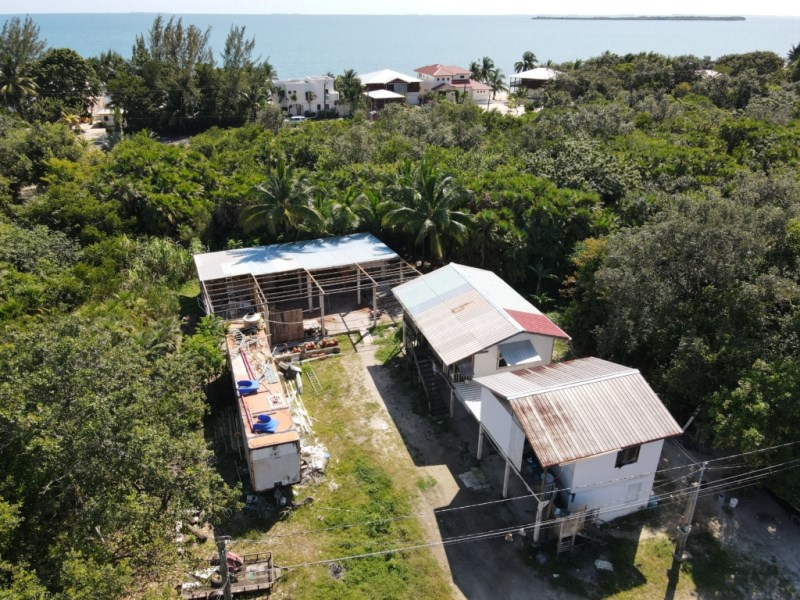 RE/MAX real estate, Belize, Maya Beach, Income Generating Rentals & Workshop Space - Canal Side