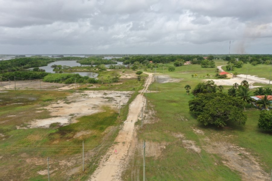 RE/MAX real estate, Belize, Corozal, Waterfront Lot in Progresso Heights