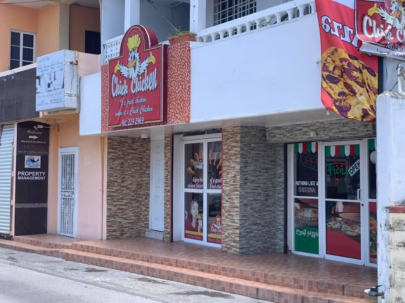 RE/MAX real estate, Belize, Belize City, Chick Chicken/Frenz Pizza