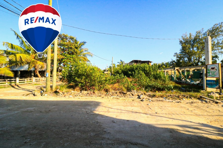 RE/MAX real estate, Belize, Ambergris Caye, San Pablo Investment Lot