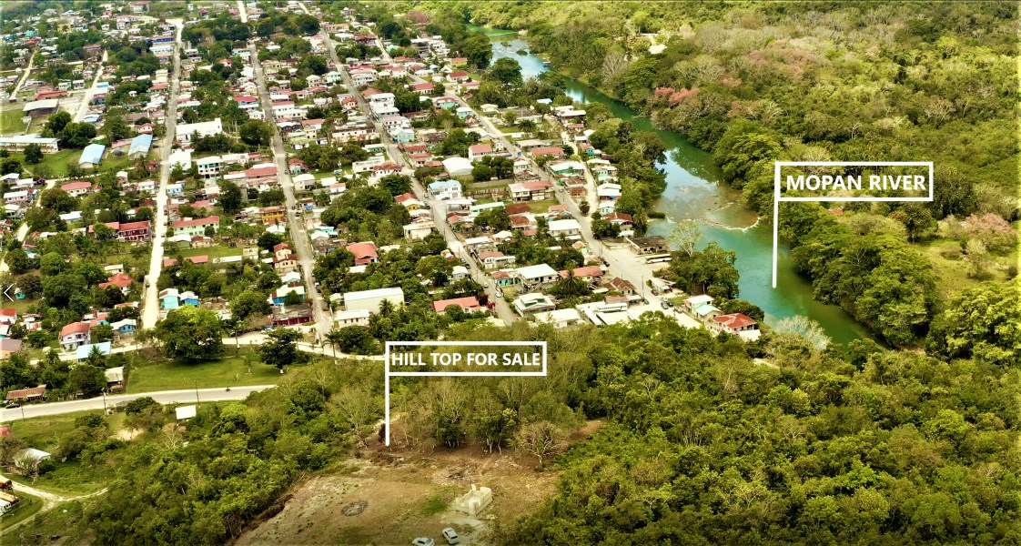 Remax real estate, Belize, Benque Viejo del Carmen, Premium Hill Top Property.