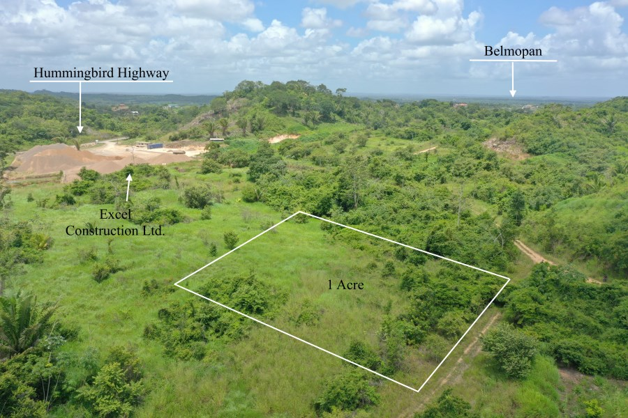 RE/MAX real estate, Belize, Belmopan, 1 acre residential lot, Belmopan City
