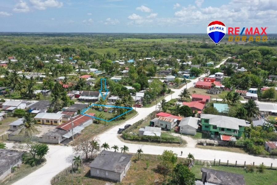 RE/MAX real estate, Belize, Trial Farm, Corner Lot at Trial Farm, Orange District, Belize
