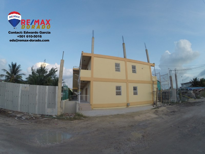 RE/MAX real estate, Belize, Ambergris Caye, Newly Built 8 Unit Apartment Complex at San Pedro Ambergris Caye, Belize