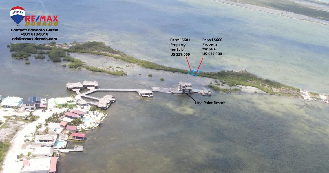 RE/MAX real estate, Belize, Ambergris Caye, Two Beach Front Properties near Lina Point Resort, San Pedro Ambergris Caye- Each at $37K USD