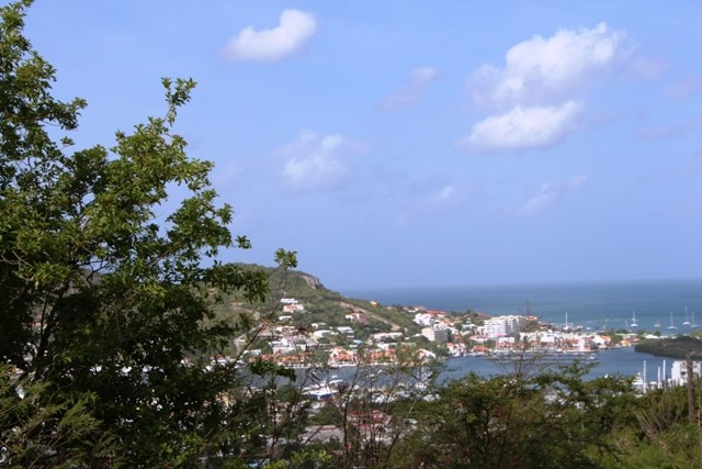 RE/MAX real estate, Sint Maarten, Cole Bay Hill, Colebay, Land for apartments with views