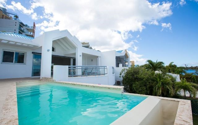 RE/MAX real estate, Sint Maarten, Maho Area, Maho, Aqua Marina 3 bedroom villa, private pool for Sale