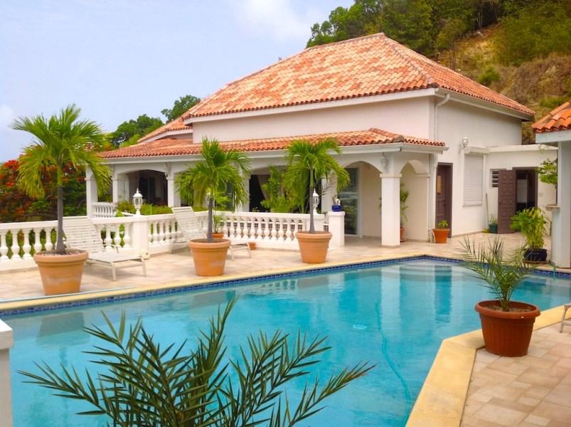RE/MAX real estate, Sint Maarten, Cole Bay, Paradise Villa overlooking Simpson Bay Lagoon