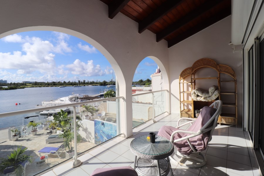 RE/MAX real estate, Sint Maarten, Point Pirouette, Point Pirouette Villa with Boat Slip