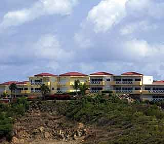 RE/MAX real estate, Sint Maarten, Dawn Beach, Atlantica Beach Club #14 REDUCED , Move in ready.