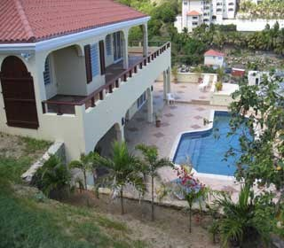 RE/MAX real estate, Sint Maarten, Dawn Beach, Villa Tantara- Solidly Built, Hurricane Proof- New Price-REDUCED 4 Bed Villa with 1 Bed Apartment