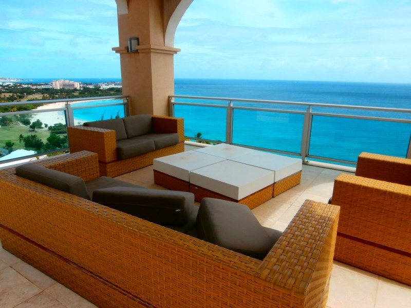 RE/MAX real estate, Sint Maarten, Cupecoy, Cliff Penthouse Price Reduced from 3.2 million