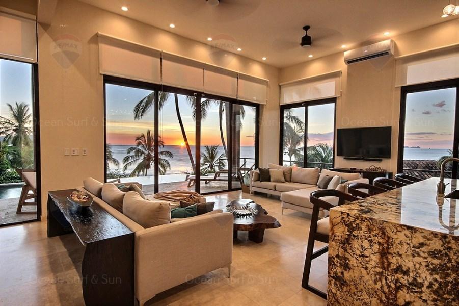 Remax real estate, Costa Rica, Flamingo, Immaculate beachfront gem ~ Casa Nautilus!