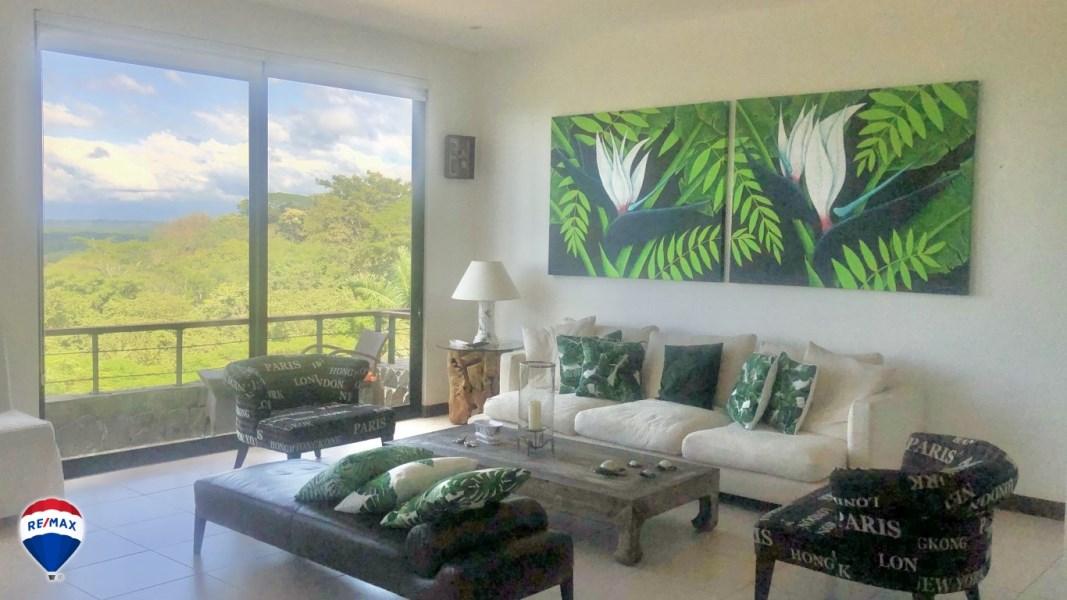 Remax real estate, Costa Rica, Tarcoles, Panoramic Ocean View Condo For Sale
