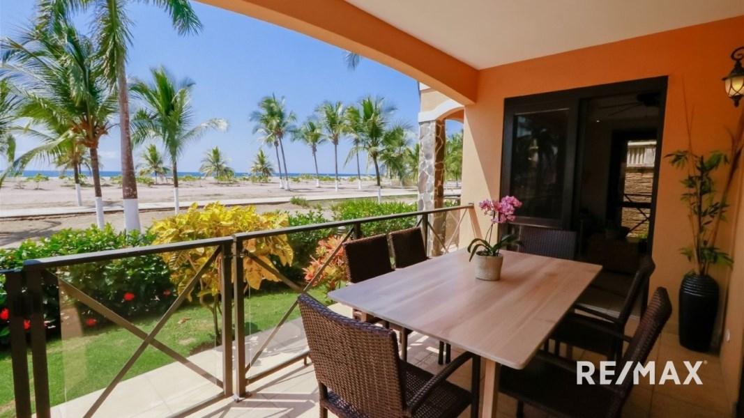 Remax real estate, Costa Rica, Jaco, Bahia Encantada A1 Absolute Beachfront Condo Jaco Beach Costa Rica