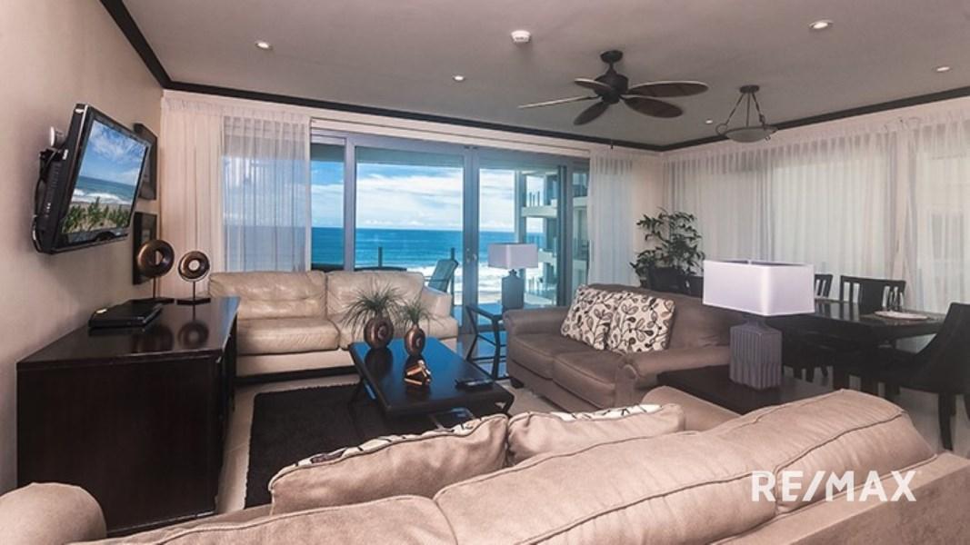 Remax real estate, Costa Rica, Jaco, Diamante Del Sol S601 Oceanfront 3-Bedroom Condo