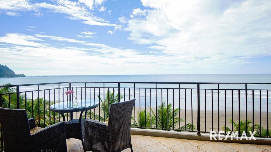 Remax real estate, Costa Rica, Jaco, Vista Las Palmas 4AB Deluxe Oceanfront Condominium
