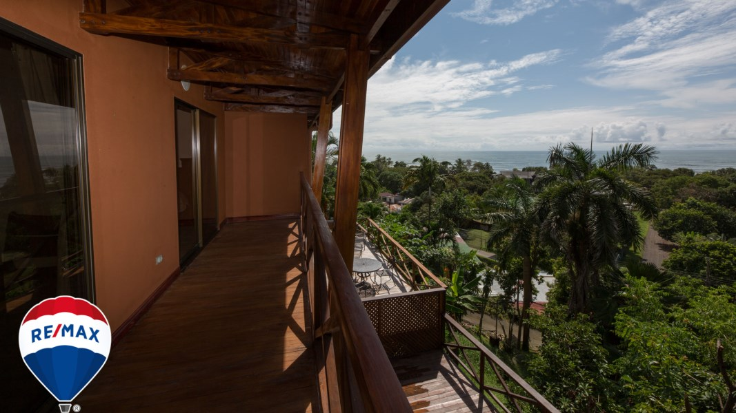 Remax real estate, Costa Rica, Esterillos, Ocean View Home | Walk to the Beach | Titled Property