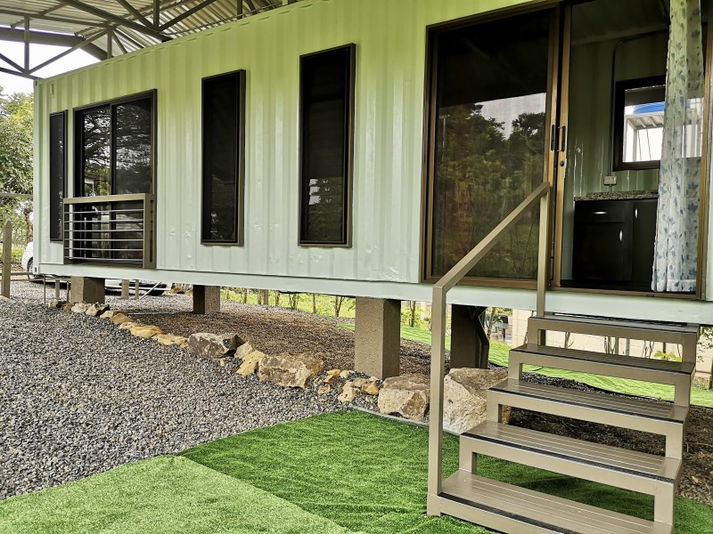 Remax real estate, Costa Rica, Atenas, New modificated container as apartment