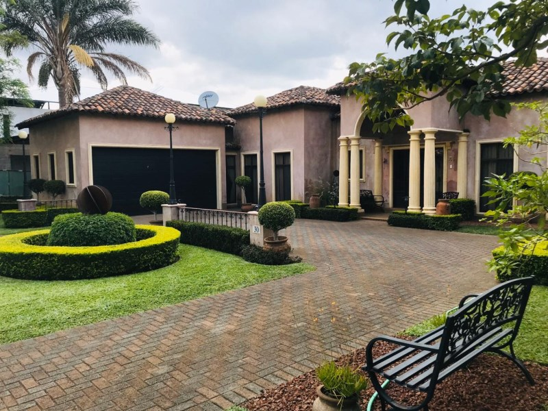 Remax real estate, Costa Rica, Alajuela - San Rafael de Alajuela, FABULOUS Mediterranean style house in La Cañada Condominium close to everything