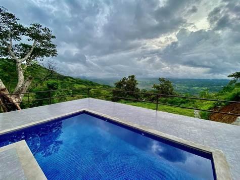Remax real estate, Costa Rica, Atenas, Big view furnished rental in Roca Verde