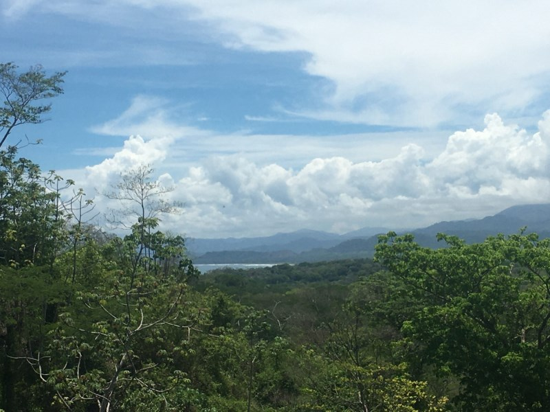 Remax real estate, Costa Rica, Delicias, Santiago lot with nice view of the valley and Coyote beach