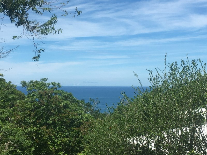 Remax real estate, Costa Rica, Santiago, Ocean view land on the hills above Hermosa beach!