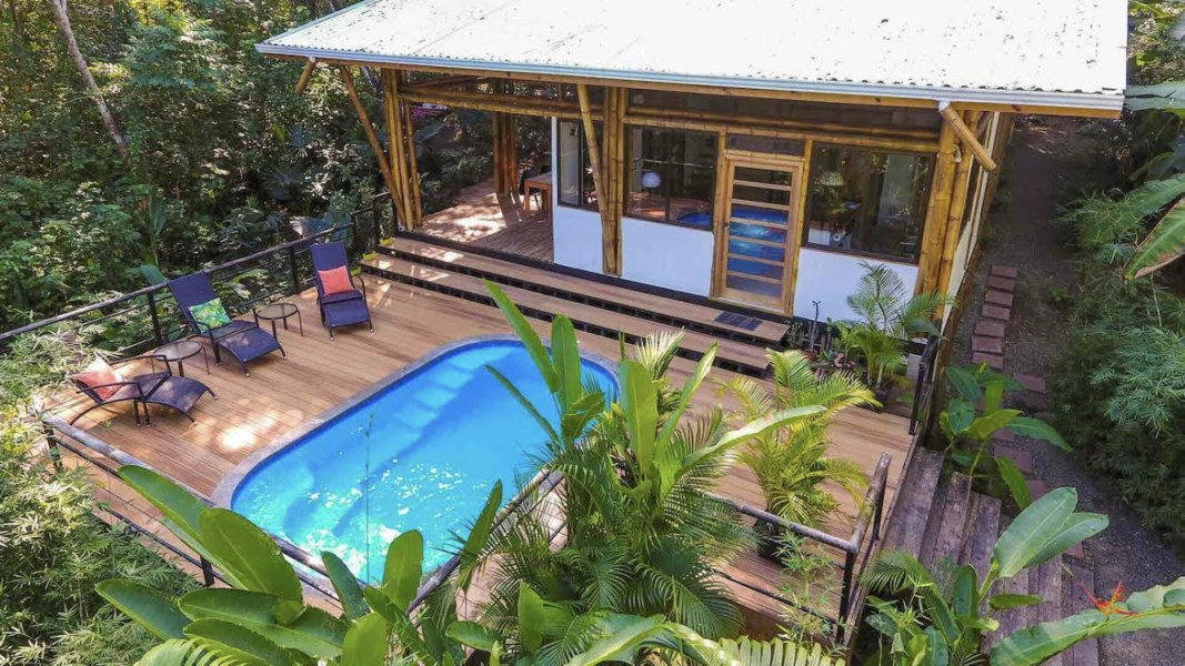 Remax real estate, Costa Rica, Mal Pais, Eco Bamboo House Surrounding By Natural Reserve