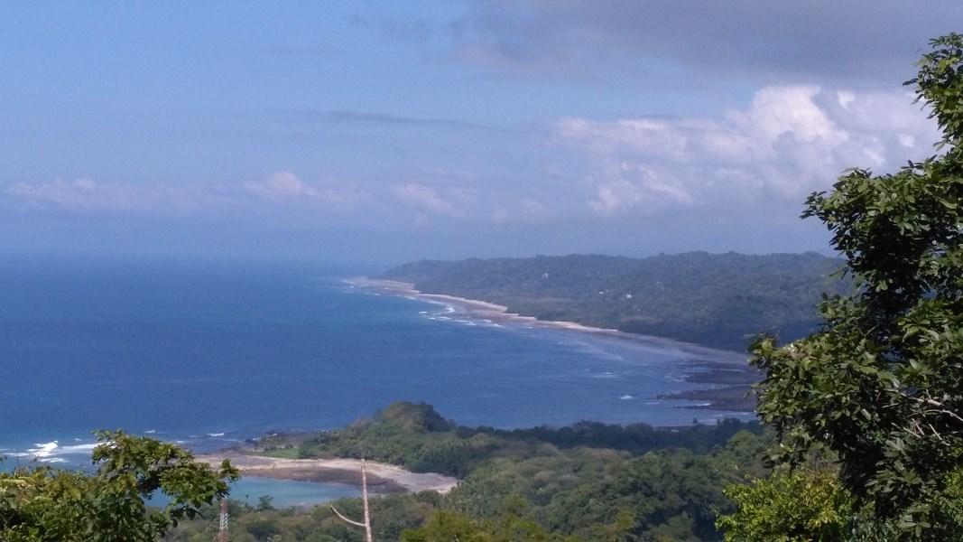 Remax real estate, Costa Rica, Mal País, Stunning Hilltop Ocean View Mal Pais Lot