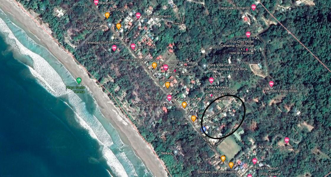 Remax real estate, Costa Rica, Santa Teresa, Prime Street Front Santa Teresa Property
