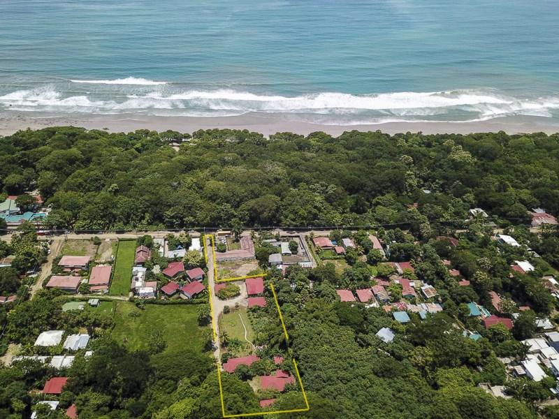 Remax real estate, Costa Rica, Santa Teresa, Exclusive! Spacious & Flat Property with Rental Homes