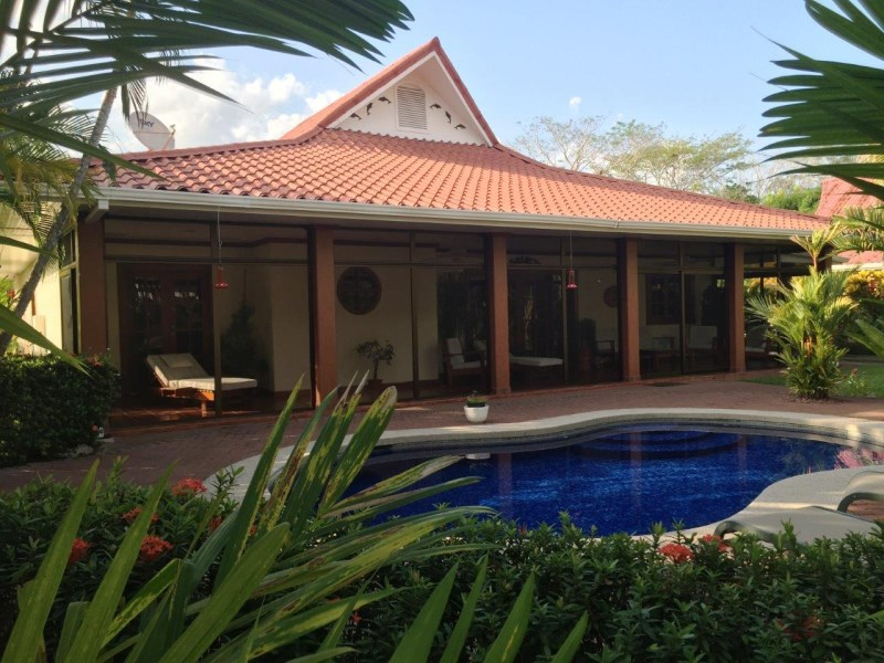 Remax real estate, Costa Rica, Tambor, 4 Bedroom Home Steps to Tambor Beach