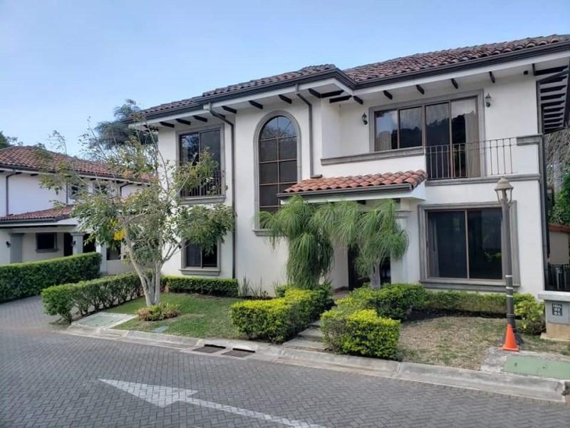 Remax real estate, Costa Rica, Santa Ana - Río Oro de Santa Ana, 3 Bedroom Rental Property in Gated Community in Rio Oro de Santa Ana