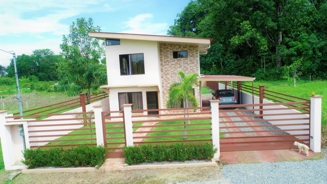 Remax real estate, Costa Rica, Ciudad Cortes, WANT A BRAND NEW HOME? LOOK AT THIS Two Story Modern Home.