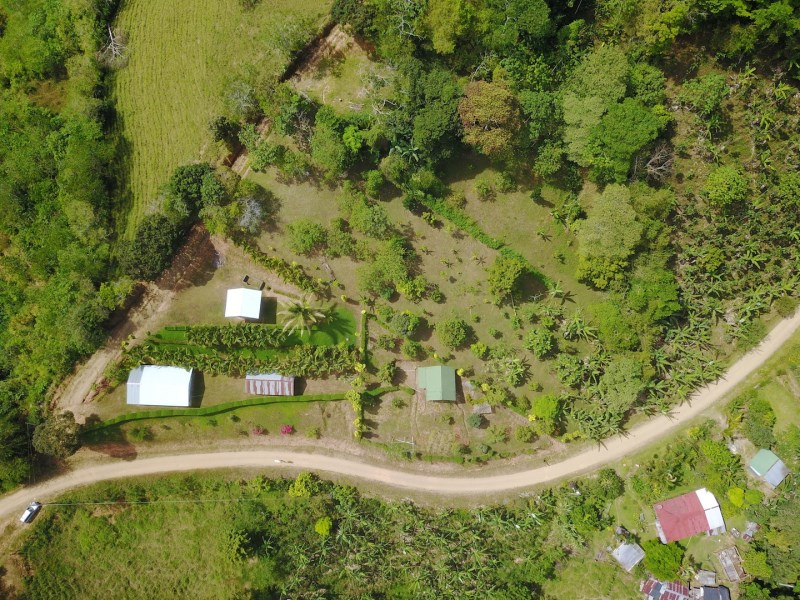 Remax real estate, Costa Rica, Uvita, 6 ACRES at 2,300 Feet A.S.L. With Big Views and Fruit Trees.