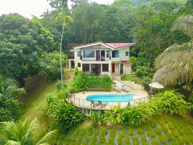 Remax real estate, Costa Rica, Dominical, La Rosa Amarilla-Affordable Ocean View 4 bedroom in Ideal Location