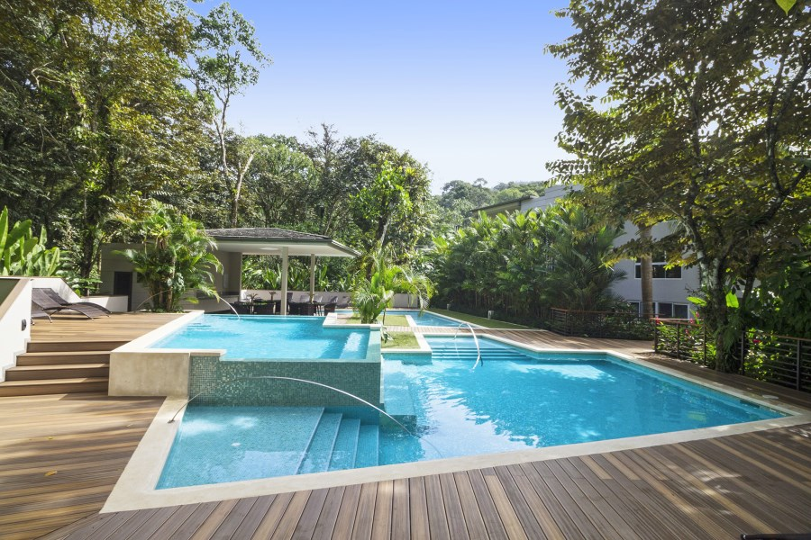 Remax real estate, Costa Rica, Uvita, Resort style living! Gorgeous 3-bedroom condo in exclusive gated community with private beach!