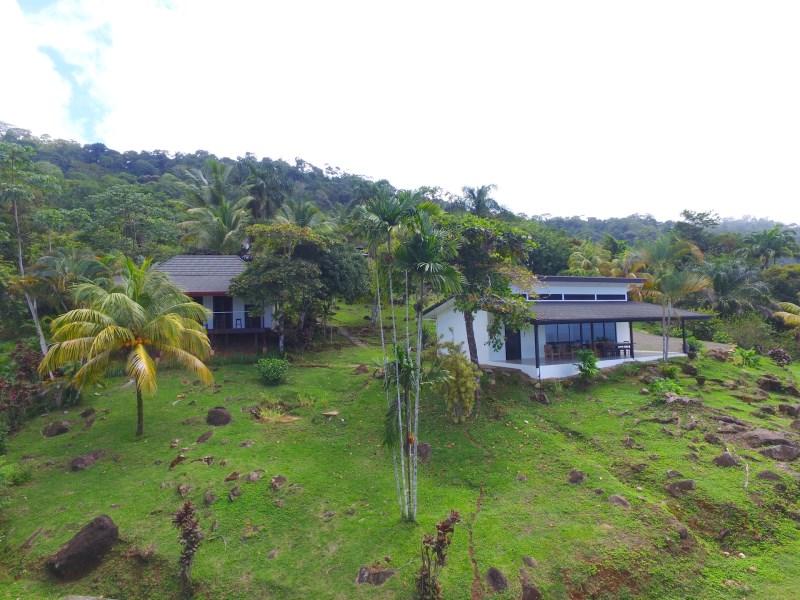Remax real estate, Costa Rica, Escaleras de Osa, ICONIC ESCALERAS PROPERTY WITH 3 OCEAN VIEW VILLAS, POOL, AND USABLE LAND.