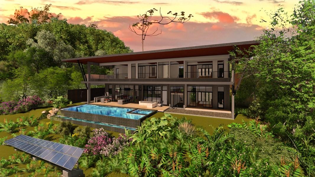 Remax real estate, Costa Rica, Escaleras de Osa, Casa Vista del Cielo - Costa Verde Estates 31
