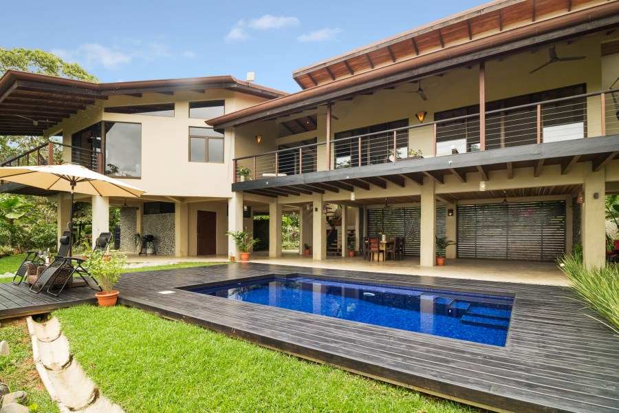 Remax real estate, Costa Rica, Uvita, Newly upgraded 3-bedroom, 2 1/2 bath home in San Josecito with stunning views of the Whale's Tail!