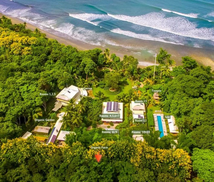 "Remax real estate, Costa Rica, Osa, ""Into the Blue"" Self sustaining Beachfront Estate Just North of Cabo Matapalo."